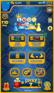 Ludo King Mod Apk (Unlimited Coins + Six & Easy Winning) Latest Version 5